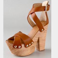 Giuseppe Zanotti High Heel Platform Clog Sandals