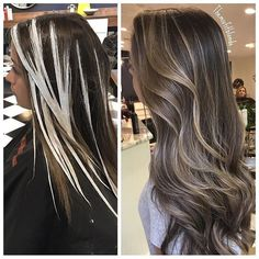 145 the famous trendy hair balayage medium highlights tips on page 19 - All For Hair Color Trending Cabelo Ombre Hair, Balayage Hair Blonde, Blonde Highlights, Bayalage, Brunette Hair, Cheveux Beiges, Hair Color Techniques, Hair Videos, Hair Looks
