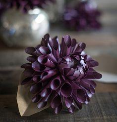 Cvijeće izrađene OD papira. Dahlias. Predlošci ZA Ispis (1) (600x630, 826Kb)