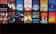 Vince Flynn BookCovers
