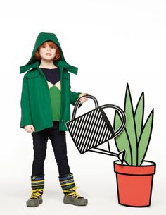 Vibrant bright colours are still a strong trend for kidswear fall / winter 2012, here at Stella McCartney