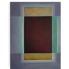 """Octaeder"" 100 x 075 cm oil on linen 2009"