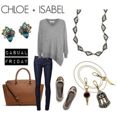 """Finish the Look!"" by Chloe and Isabel with JLC Style  Shop here: https://www.chloeandisabel.com/boutique/jaimecarmer"