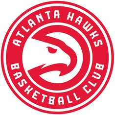 385ce1467fd0 Applied Icon NBA Atlanta Hawks Outdoor Large Primary Mark Graphic Decal, As  Shown
