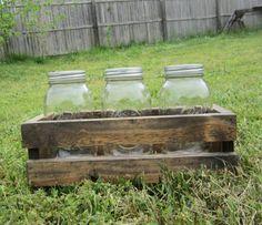 Hey, I found this really awesome Etsy listing at https://www.etsy.com/listing/163322885/mason-jar-centerpiece-rustic-wedding