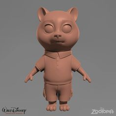 Responsible for texturing, shading and fur grooming. Character Modeling, 3d Character, Character Design, 3d Modeling, Modelos Low Poly, Zootopia Characters, 3d Anatomy, Zbrush Tutorial, Character Inspiration