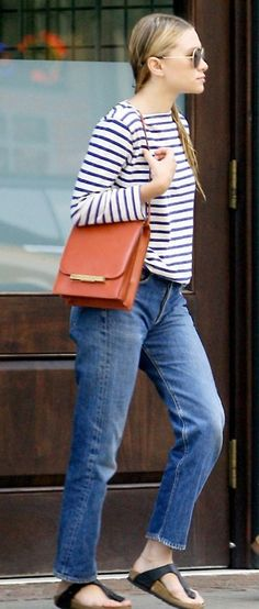 if an Olsen can wear Birkenstocks, then by golly so can I.