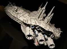 huge lego space ships | Paul Yperman's Lego Star War Space Ship, a classic you can't dare to ...