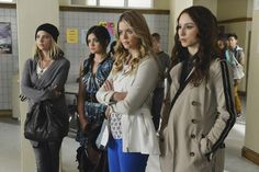 Still of Troian Bellisario, Sasha Pieterse, Lucy Hale and Ashley Benson in Pretty Little Liars (2010)
