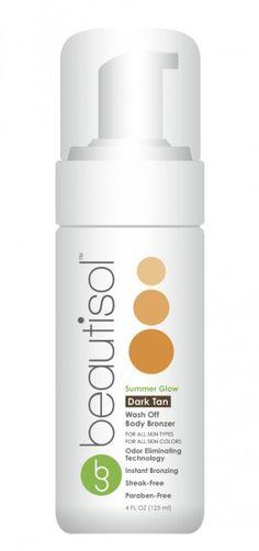 Cruelty Free Product of the Month - Beautisol Tea Tan Glow - wash off tanner $25 #Vegan #crueltyfree #bbloggers