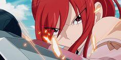 Kagura vs. Erza Fairy Tale Anime, Fairy Tales, Fairy Tail Video, Erza Scarlett, Jerza, Fairytail, Fairy Tail Erza Scarlet, Jellal And Erza, Fairy Tail Girls