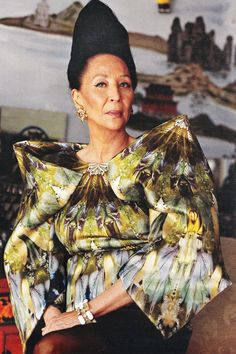 China Machado, 82, Richard Avedon's glamorous former muse who, in the 1950s, became one of the most famous fashion models of her day.