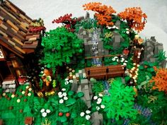 Hillside Cottage: A LEGO® creation by Boise Bro : MOCpages.com