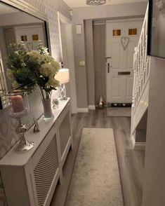 Stunning 20 Fabulous Hallway Decor Ideas For Home. Stunning 20 Fabulous Hallway Decor Ideas For Home. Grey Hallway, Hallway Ideas Entrance Narrow, House Entrance, Modern Hallway, Entry Hallway, Entrance Hall Decor, Entrance Halls, Hall Way Decor, Country Hallway Ideas
