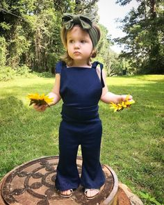 Make your toddler a new outfit with this overalls pattern hack!