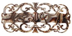 France Luxe Baroque Barrette - Onyx >>> Check out the image by visiting the link.