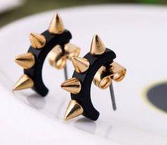 Spike stud earrings... FUN STUD EARRINGS ALL UNDER $2 SHIPPED! ~ GREAT GIFT IDEAS