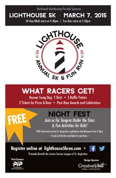 Lighthouse 5k and Night Fest! – March 7th, 2015