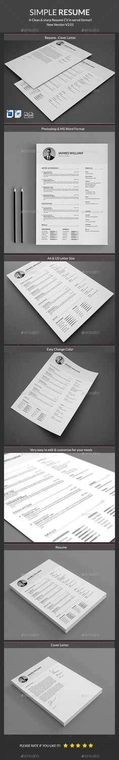 Resume Template PSD. Download here: http://graphicriver.net/item/resume/15150323?ref=ksioks