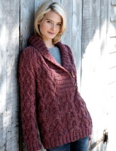 One Piece Jacket Yarn Free Knitting Patterns Crochet Patterns