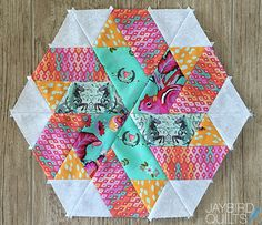 Sweet Tooth Block 11 - Ribbon Candy | Jaybird Quilts