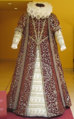 Authentic antique tudor costume