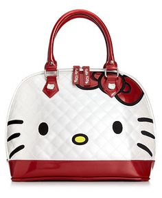 Hello Kitty Handbag, Kitty Face Satchel - Satchels - Handbags & Accessories - Macy's