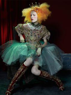 Adoring Icons - Stylist Magazine; Photography: Tim Bret-Day; Styling: Thea Lewis-Yates; Model: Lorena Agnelli