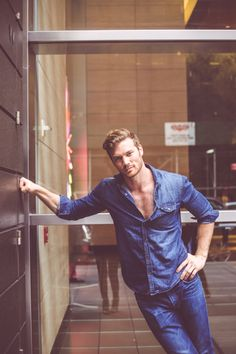 Derek Theler shows off a bit of his chest in these new shots from the December 2014 issue of NKD . Derek Theler, Beautiful Soul, Beautiful People, Actor Model, Action Movies, Baby Daddy, White Man, Danny, Pretty Face