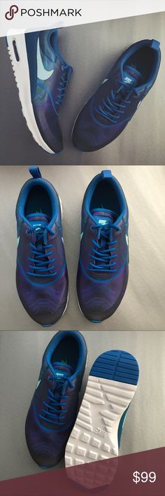 OFFER ME ⚡️ Women's Nike Air Max Thea Brand new with the box but no lid. Satin material Nike Shoes Athletic Shoes
