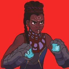 Princess shuri of wakanda black panther marvel Black Panther Marvel, Shuri Black Panther, Marvel Art, Marvel Heroes, Marvel Avengers, Marvel Characters, Marvel Movies, Shuri Marvel, Wakanda Marvel