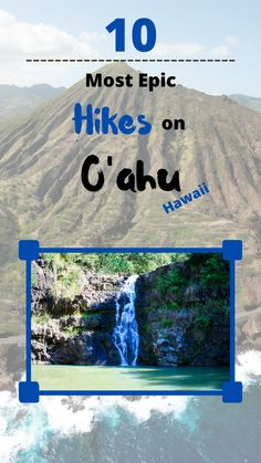 Don't miss out on some of the best hikes O'ahu Hawaii has to offer. In this guide you will find easy to intermediate hikes. Hawaii Vacation Tips, Packing List For Vacation, Vacation Trips, Day Trips, Hiking Routes, Go Hiking, Hawaii Adventures, Amazing Adventures, Maui Travel