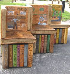29 Best Book Benches Images I Love Books Book Lovers