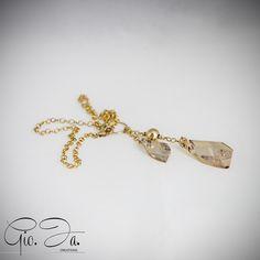 Golden Avant Garde Necklace