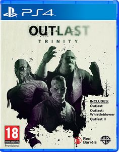 Buy Outlast Trinity PS4 game. The Ultimate Horror Bundle features over 20 hours of terrifying gameplay across Outlast 1, Outlast Whistleblower and the all new Outlast 2.