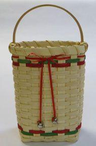 Silver Bells Basket Pattern.  Cute.