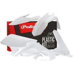 Polisport Gas Gas Plastic Kit - White