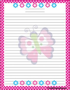 Butterfly Stationery Stationery