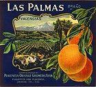 Fullerton Placentia Las Palmas Orange Citrus...