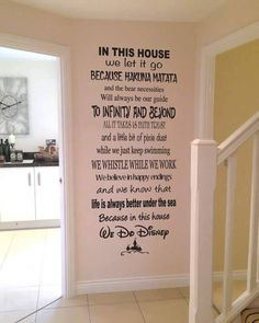 Disney rules in my house are the only rules I need.