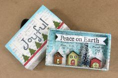 Kay's Keepsakes: Christmas Tree Ornaments PART: 2 - adorable matchbox miniature!
