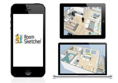 Live 3D Floor Plans are the latest trend for home sales, remodeling, and interior design projects – allowing users to take engaging virtual home tours right from their computer or mobile device. Check it out: http://www.roomsketcher.com/blog/share-live-3d-floor-plans/  #floorplans #homedesign #interiordesign
