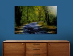 Discover «Walkway Thru The Matrix Forest», Limited Edition Aluminum Print by Glink - From $65 - Curioos