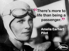 Amazing Amelia (http://ow.ly/csm8d) born July 24, 1897. Thank you Amelia Earhart, for a life adventurously lived ♥ You are a true hero and inspiration for women & men worldwide ♥
