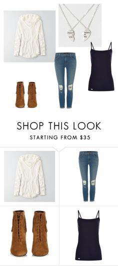 """Jeff the Killer Outfits"" by gorela-davis on Polyvore featuring American Eagle Outfitters, J Brand and Yves Saint Laurent"