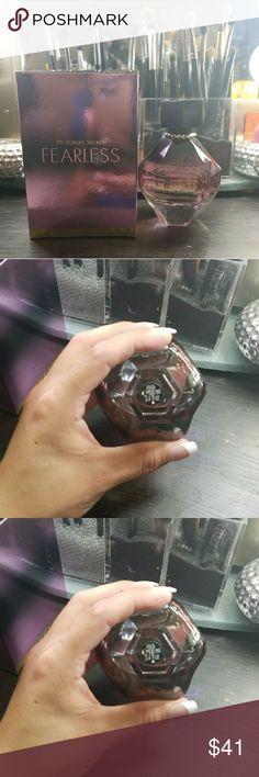 Victoria Secret Fearless Parfume 3.4 oz bottle. 2/3 left. I smell but I babe too many   perfumes already. Victoria's Secret Makeup
