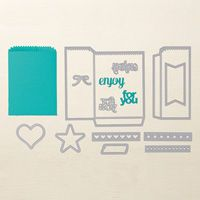 Mini Treat Bag Thinlits Dies by Stampin' Up!