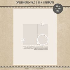 Quality DigiScrap Freebies: Template freebie from Dawn by Design
