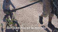 Con los niños en la mochila: Vía verde de El Maigmó (Alicante)