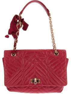"""""""Happy"""" Medium Quilted Tote by Lanvin #GenteRoma"""